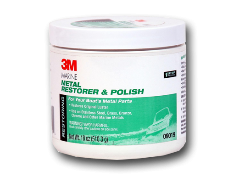 3M - MARINE METAL RESTORER & POLISH  9018-9019