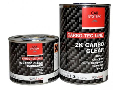 Βερνίκι ματ και καταλύτης  2K Carbo Clear Mat  Set