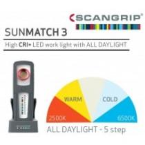 Φακός Χειρός SCANGRIP SUNMATCH 3